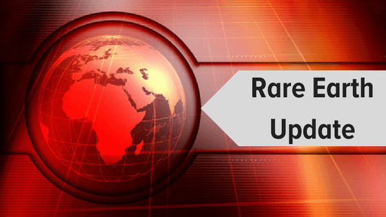 Rare Earth Update