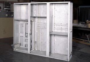 Equipment control panels